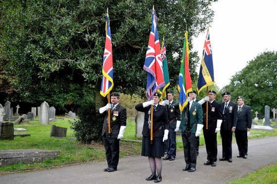 Battle of Square Hill fallen honoured by South African Legion United Kingdom